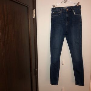 Zara High waisted jeans.